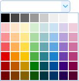 颜色选择器(Color)