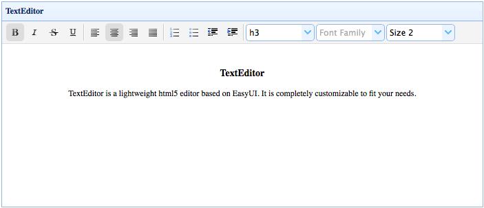 文本编辑器(TextEditor)